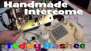 getlinkyoutube.com-Handmade Intercom Using Vintage Phones and Buzzer DIY