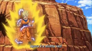 Dragon ball super-Guku vs Guku black