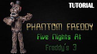 getlinkyoutube.com-Tutorial Phantom Freddy en Plastilina | FNaF 3 | Phantom Freddy Clay Tutorial