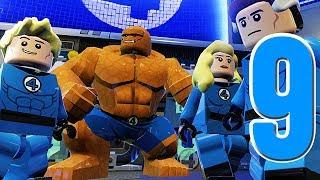 getlinkyoutube.com-LEGO Marvel Super Heroes Movie Walkthrough 09 HD1080p - Fantastic Four  - No Commentary
