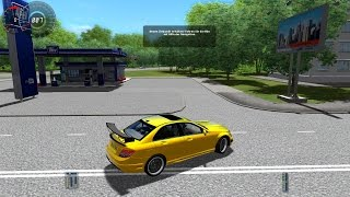 getlinkyoutube.com-City Car Driving 1.3.3 Mercedes-Benz  C63 AMG Tuning Kit 2010 [1080p]