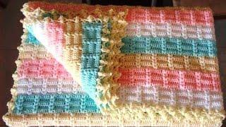 getlinkyoutube.com-Tığ İşi Battaniye Modeli ve Yapımı Anlatımlı