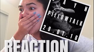 REACTION TO PILLOW TALK MUSIC VIDEO BY ZAYN MALIK | virtuallykobe