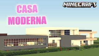 getlinkyoutube.com-MINECRAFT: CASA MODERNA PARA RICOS | MAPA DE SUSCRIPTOR