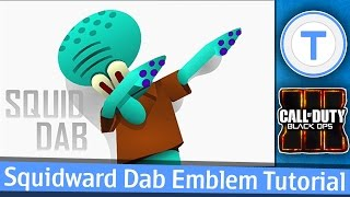 getlinkyoutube.com-SQUIDWARD DAB - Black Ops 3 Emblem Tutorial