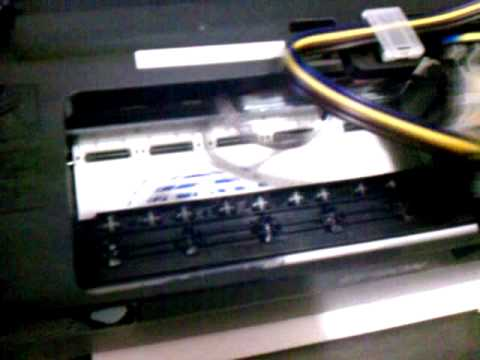 Impresora Epson T22 Tinta continua falla al imprimir
