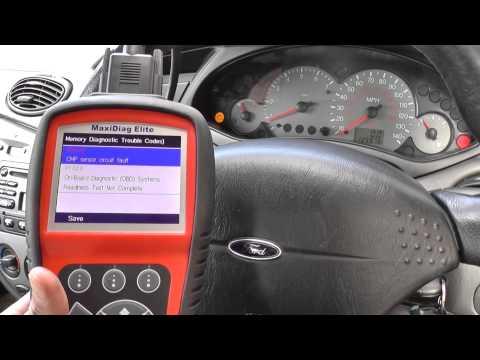 Ford Focus P0340 Camshaft Position Sensor Fault