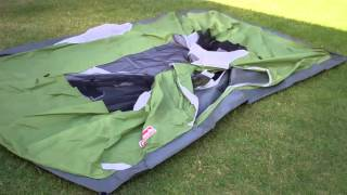 getlinkyoutube.com-A look at the Coleman 9X7 4 person Sundome Tent