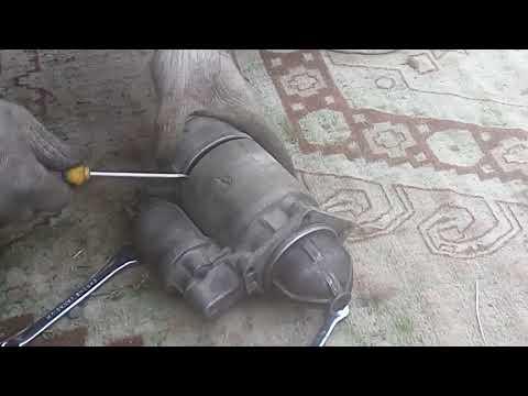 Чистка стартера перед зимой (ВАЗ-2107)! Cleaning starter before winter (VAZ-2107)!
