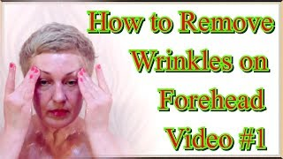 getlinkyoutube.com-How to Get Rid of Forehead Wrinkles at Home, video 1