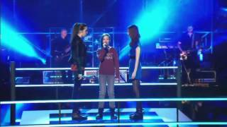 getlinkyoutube.com-Battle: Zombie - The Cranberries | The Voice Kids 2014 Belgium