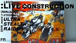 getlinkyoutube.com-[LIVE CONSTRUCTION] LEGO Ninjago : Ultra Stealth Raider (1/4) [Français]