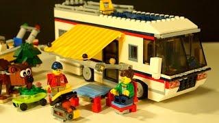 getlinkyoutube.com-Lego Creator 31052 - Кемпинг - Домик на Колёсах - Видео Обзор для Детей