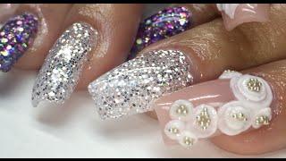 getlinkyoutube.com-How To Salon Style Acrylic Nails