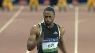 getlinkyoutube.com-Shanghai Golden Grand Prix 2009 - M-100m Gay 9.69 AR!