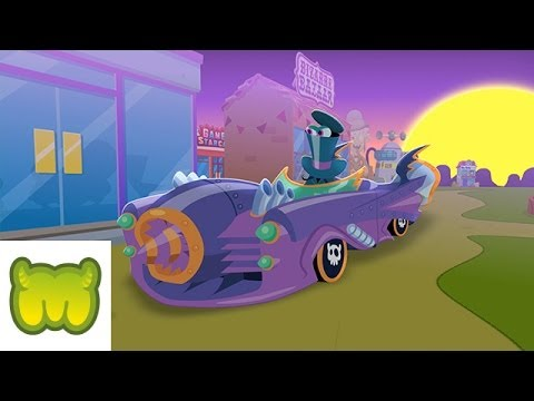 Moshi Monsters - Dr. Strangeglove's Music Video