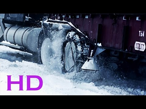 Extreme truck drivers in the snow! ᴴᴰ