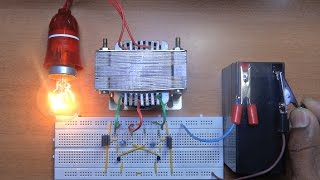 getlinkyoutube.com-How To Make A Inverter 12v to 220v?