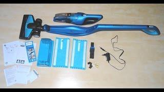 getlinkyoutube.com-Hit ! Philips PowerPro Aqua odkurzacz pionowy bezprzewodowy  myjący 3w1