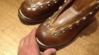 getlinkyoutube.com-ゴロー 登山靴 手入れ 【推奨】 WAX仕上げ3回塗り加工 goro s8