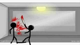 getlinkyoutube.com-15 ways 2 kill a stickman