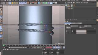 getlinkyoutube.com-Cinema 4D R16スプラインとMoGrpahを使ったモデリング