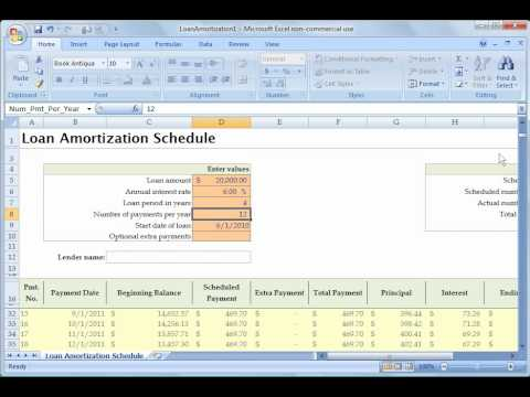 Excel 2007 Tutorial 10: Intro to templates