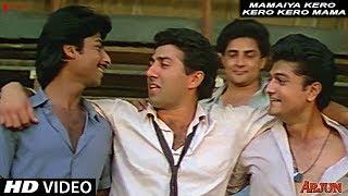 Mamaiya Kero Kero Kero Mama | Shailendra Singh | Arjun | Full HD Song | Sunny Deol, Dimple Kapadia width=
