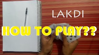getlinkyoutube.com-Learn how to play Indian card game of Lakdi.