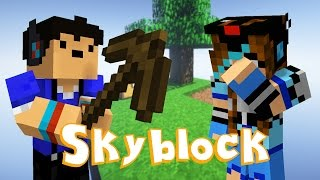 getlinkyoutube.com-How Do I Island?! - Skyblock Survival Pt.1