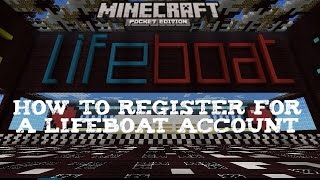 getlinkyoutube.com-Minecraft PE: How to Register for a LifeBoat Account