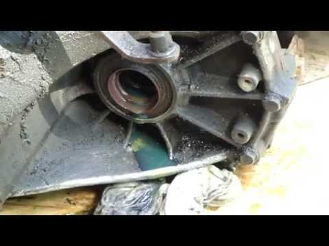 How to check driveshaft gears oil level Toyota Corolla VVT-i engine