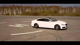 getlinkyoutube.com-Audi A7 on Vossen Wheels VVS CV5