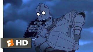 getlinkyoutube.com-The Iron Giant (4/10) Movie CLIP - Hungry For Scraps (1999) HD