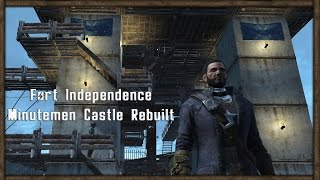getlinkyoutube.com-CASTLE'S WALLS FIXED! Fallout 4 Base Building