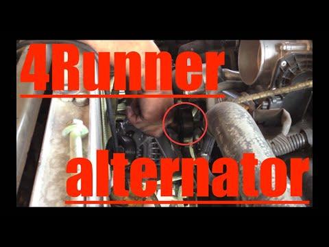 ALTERNATOR Replacement TEST Toyota 4Runner V8? Fix it Angel