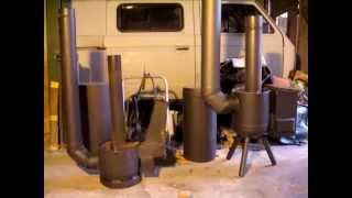 getlinkyoutube.com-Rocket Stove, Rocket Mass Heater - GERMAN / Raketenofen - DEUTSCH