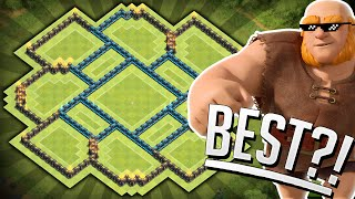 getlinkyoutube.com-Clash of Clans - WORLDS BEST BASE! Townhall 10 (TH10) Farming Base - 2 Air Sweepers!