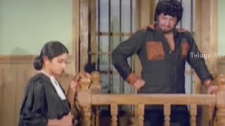 getlinkyoutube.com-Sridevi interrogating NTR - Bobbili Puli Movie Scenes - Murali Mohan
