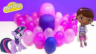 getlinkyoutube.com-Play Doh Tom and Jerry Peppa Pig Frozen Barbie Surprise Eggs Angry Birds