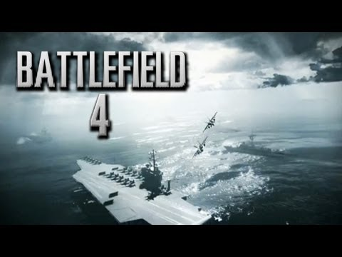 Battlefield 4 Trailer GDC 2013 Gameplay Incoming Naval, Sea, Land, Space Xbox 720/PS4/PC E3 2013