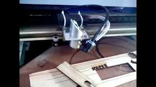 getlinkyoutube.com-Мой новый лазерный станок. Начинаем зарабатывать.