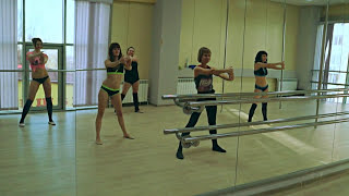 getlinkyoutube.com-Pole Dance- Polina Sahno/ Инструктор по Pole Dance