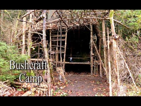 Bushcraft Camp | Lagerbau im Wald | Waldläufer Lager