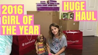 2016 Girl of the Year Lea Clark FULL Collection Huge American Girl Doll Haul