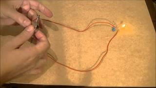 Gerador De Energia Infinita 5  Free Energy Generator - Acendendo Led Comum No Prego