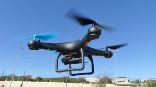 getlinkyoutube.com-Drone Review - U45 Blue Jay Quadcopter