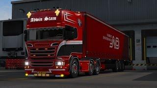 ETS 2 - SCANIA R520 Adwin Stam - Trip: Odense - Bergen