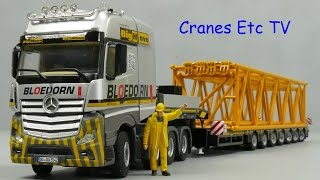 Mercedes-Benz Actros MP4 + Brohuis Trailer 'Bloedorn' by Cranes Etc TV