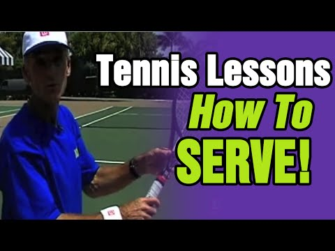 Tennis Lessons - How To Serve In Tennis | Tom Avery Tennis 239.592.5920